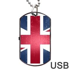 Brit3 Dog Tag USB Flash (Two Sides)