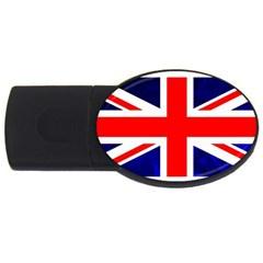 Brit4 USB Flash Drive Oval (4 GB)
