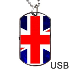 Brit4 Dog Tag USB Flash (One Side)