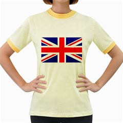 Brit5 Women s Fitted Ringer T Shirts