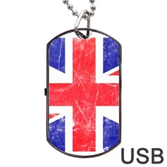 Brit6 Dog Tag Usb Flash (two Sides)