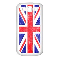 Brit6a Samsung Galaxy S3 Back Case (White)