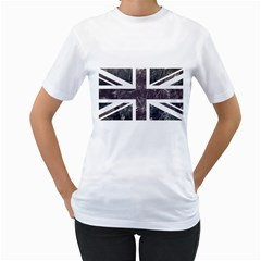 Brit7 Women s T-Shirt (White) (Two Sided)