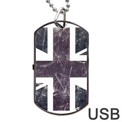 Brit7 Dog Tag USB Flash (One Side)