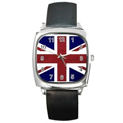 Brit8 Square Metal Watches