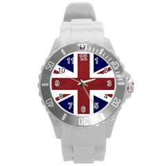 Brit8 Round Plastic Sport Watch (L)