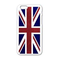 Brit8a Apple iPhone 6/6S White Enamel Case