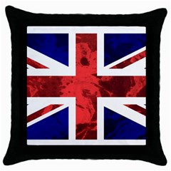 Brit9 Throw Pillow Cases (Black)
