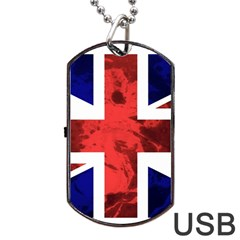 Brit9 Dog Tag Usb Flash (one Side)