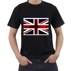 Brit10 Men s T-Shirt (Black) (Two Sided)