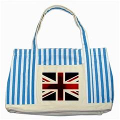 Brit10 Striped Blue Tote Bag