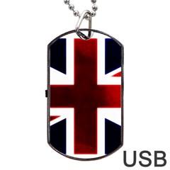 Brit10 Dog Tag USB Flash (Two Sides)