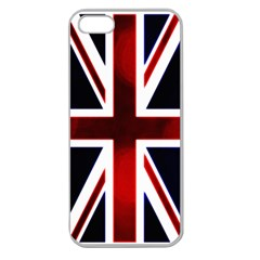 Brit10a Apple Seamless iPhone 5 Case (Clear)