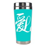 love(ai) Stainless Steel Travel Tumbler Left