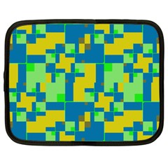 Shapes In Shapes Netbook Case (xxl)