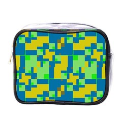 Shapes in shapes Mini Toiletries Bag (One Side)