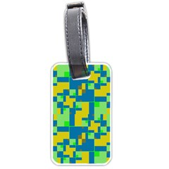 Shapes in shapes Luggage Tag (two sides)