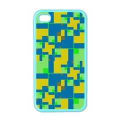 Shapes in shapes Apple iPhone 4 Case (Color)