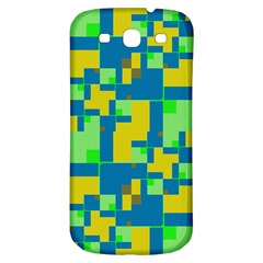 Shapes in shapes Samsung Galaxy S3 S III Classic Hardshell Back Case