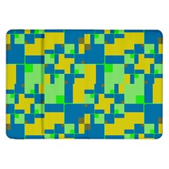 Shapes in shapes Samsung Galaxy Tab 8.9  P7300 Flip Case