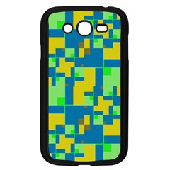 Shapes in shapes Samsung Galaxy Grand DUOS I9082 Case (Black)
