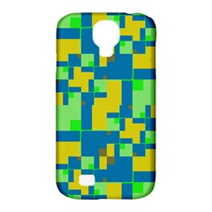 Shapes In Shapes Samsung Galaxy S4 Classic Hardshell Case (pc+silicone)