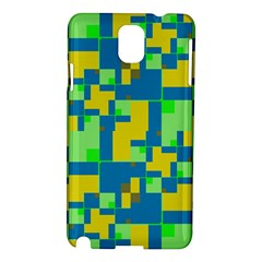 Shapes in shapes Samsung Galaxy Note 3 N9005 Hardshell Case