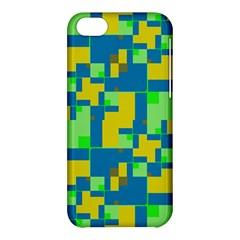 Shapes in shapes Apple iPhone 5C Hardshell Case