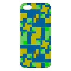 Shapes in shapes iPhone 5S Premium Hardshell Case