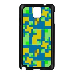 Shapes in shapes Samsung Galaxy Note 3 N9005 Case (Black)