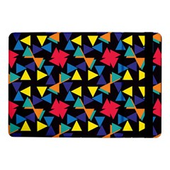 Colorful triangles and flowers patternSamsung Galaxy Tab Pro 10.1  Flip Case