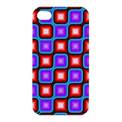 Connected squares pattern Apple iPhone 4/4S Premium Hardshell Case