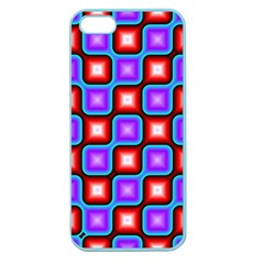 Connected squares pattern Apple Seamless iPhone 5 Case (Color)