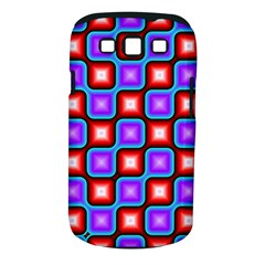Connected squares pattern Samsung Galaxy S III Classic Hardshell Case (PC+Silicone)