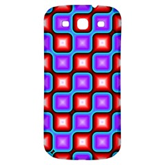 Connected squares pattern Samsung Galaxy S3 S III Classic Hardshell Back Case