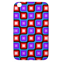 Connected squares pattern Samsung Galaxy Tab 3 (8 ) T3100 Hardshell Case