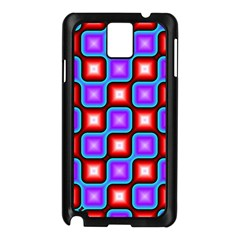 Connected squares pattern Samsung Galaxy Note 3 N9005 Case (Black)
