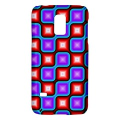 Connected squares patternSamsung Galaxy S5 Mini Hardshell Case