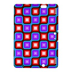 Connected squares pattern	Kindle Fire HDX 8.9  Hardshell Case