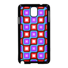 Connected squares pattern Samsung Galaxy Note 3 Neo Hardshell Case