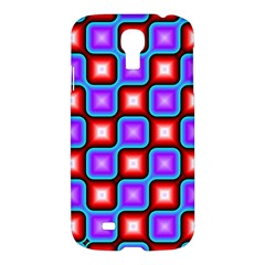 Connected squares patternSamsung Galaxy S4 I9500/I9505 Hardshell Case $10