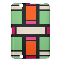 Rectangles cross Kindle Fire HD 8.9  Hardshell Case