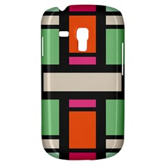 Rectangles cross Samsung Galaxy S3 MINI I8190 Hardshell Case
