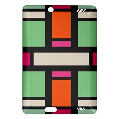 Rectangles cross Kindle Fire HD (2013) Hardshell Case