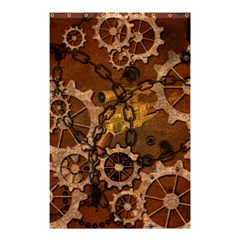 Steampunk In Rusty Metal Shower Curtain 48  x 72  (Small)
