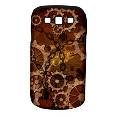 Steampunk In Rusty Metal Samsung Galaxy S III Classic Hardshell Case (PC+Silicone)