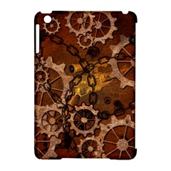 Steampunk In Rusty Metal Apple iPad Mini Hardshell Case (Compatible with Smart Cover)