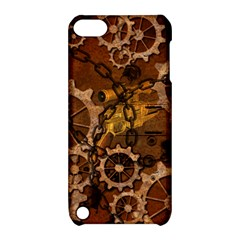 Steampunk In Rusty Metal Apple iPod Touch 5 Hardshell Case with Stand
