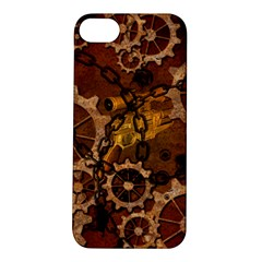 Steampunk In Rusty Metal Apple iPhone 5S Hardshell Case