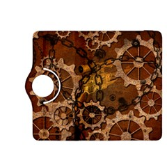 Steampunk In Rusty Metal Kindle Fire HDX 8.9  Flip 360 Case